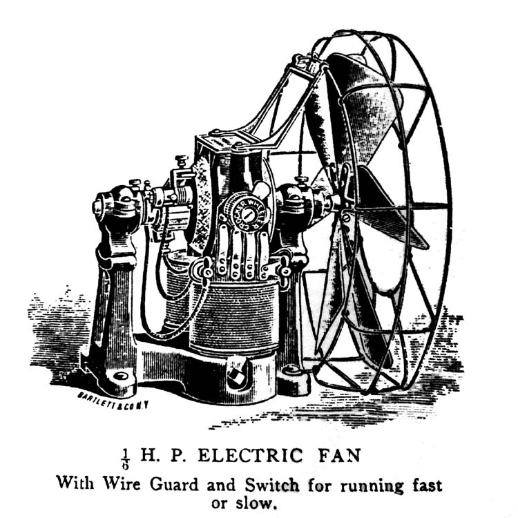 Crocker Wheeler Electric Fan
